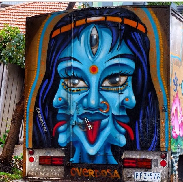 Overdosa, Melbourne truck, 4/15 (LP)