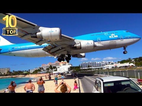 Top 10 World's Most Dangerous Airports and Landings