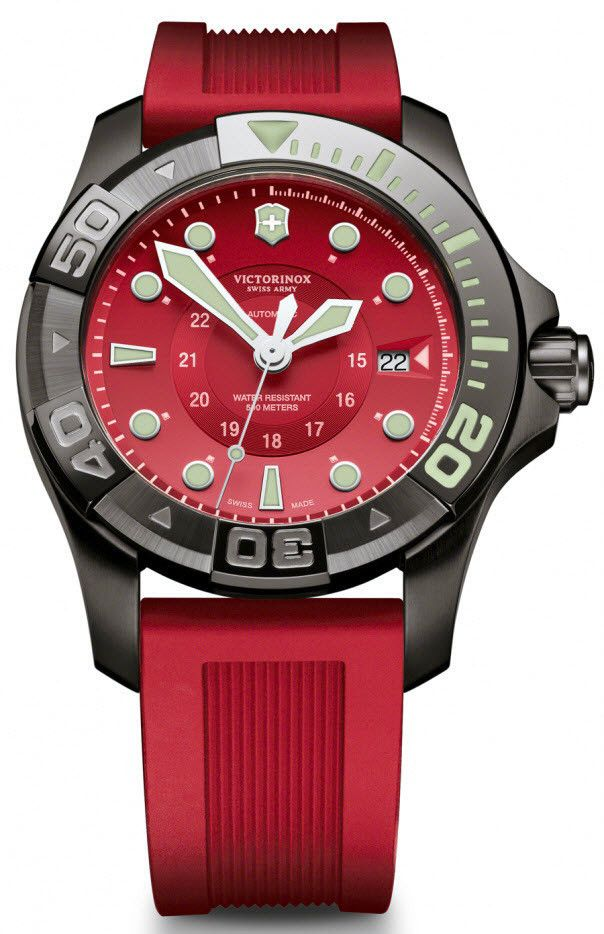 Victorinox Swiss Army Watch Dive Master 500 Mechanical #bezel-unidirectional #bracelet-strap-rubber #brand-victorinox-swiss-army #case-material-black-pvd #case-width-43mm #classic #date-yes #delivery-timescale-call-us #dial-colour-red #gender-mens #movement-automatic #official-stockist-for-victorinox-swiss-army-watches #packaging-victorinox-swiss-army-watch-packaging #style-divers #subcat-dive-master #supplier-model-no-241577 #warranty-victorinox-swiss-army-official-3-year-guarantee…