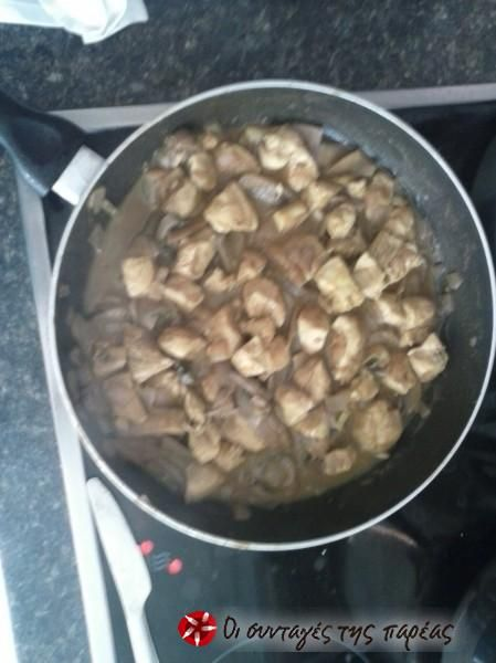 Πέννες με κοτόπουλο και σάλτσα μουστάρδας #sintagespareas