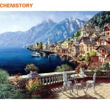 Frameless Seascape Oil Paintings By Numbers DIY Digital Pictures Coloring By Number On Canvas Unique Gifts Home Decoration 40x50 ** Just click the VISIT button to find out more on  AliExpress.com #modernhousedesign