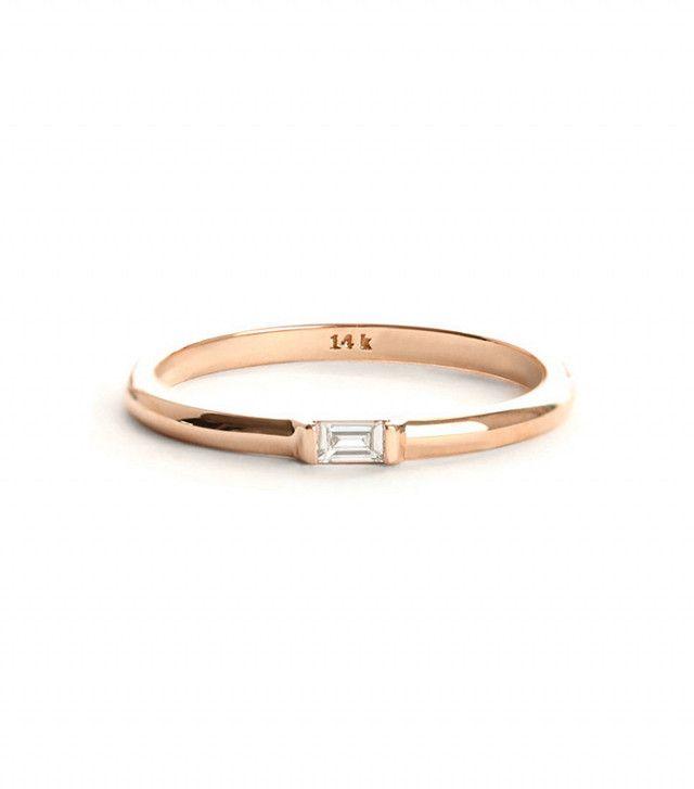 Vrai & Oro Baguette Diamond Ring  Regular price