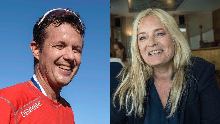 Kronprins Frederik og Anne Linnet: Sammen i verdens hårdeste skiløb