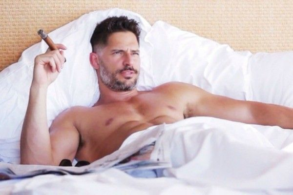 Omg! It be hard to leave the house with him in it!!! Actor Joe Manganiello