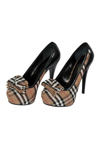 Burberry High-Heeled Shoes-- I might actually wear these