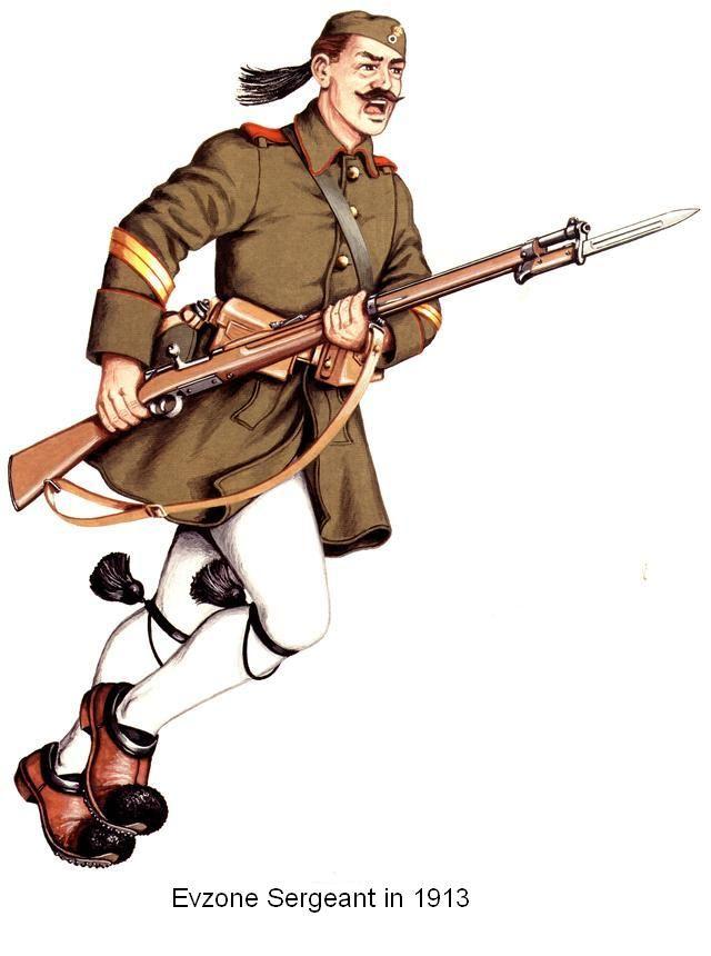 Evzone Sgt 1913