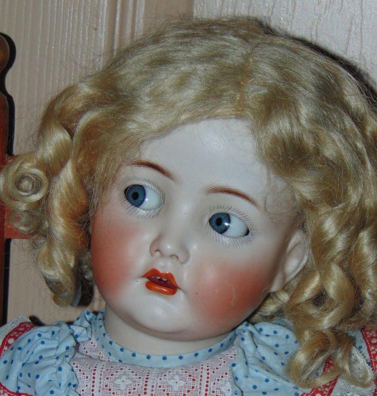 ANTIQUE BISQUE Doll MEIN LIEBLING Germany  K*R Simon & Halbig 117n  | eBay