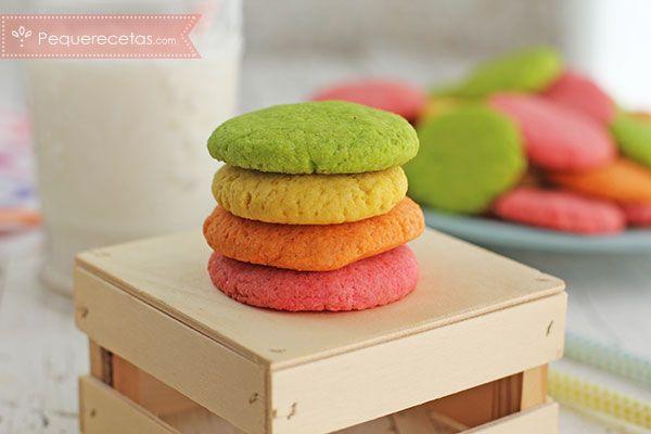 Galletas de gelatina, una receta de galletas llenas de color y sabor muy originales. Son muy sencillas de preparar así que ya tenéis plan para prepararlas