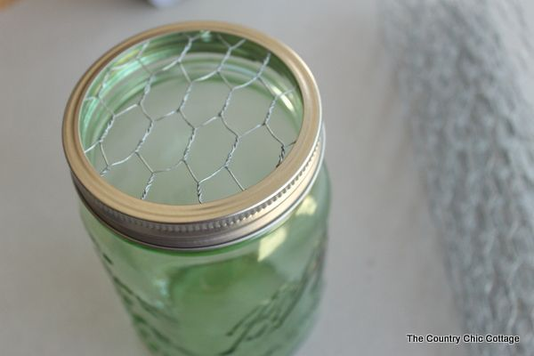 Mason Jar Toothbrush Holder - * THE COUNTRY CHIC COTTAGE (DIY, Home Decor, Crafts, Farmhouse)