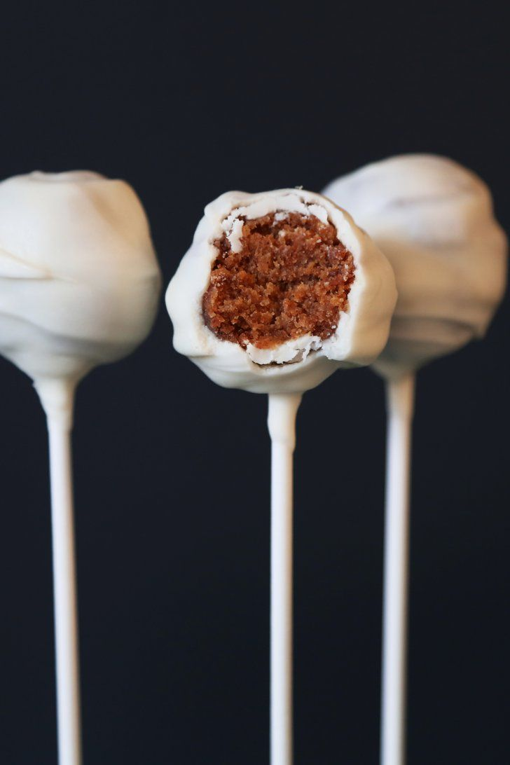 Pin for Later: All of the Pumpkin Recipes — 111 to be Exact — You Need This Fall Pumpkin Cake Pops Get the recipe: pumpkin cake pops