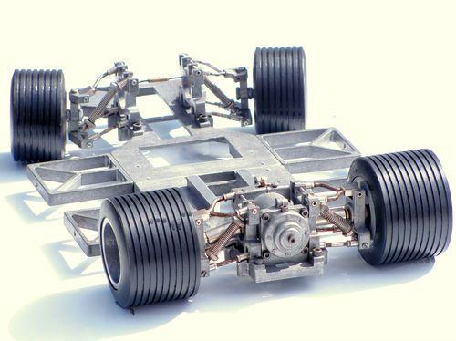 late 1960 rc - Dynamic Suspension 1/8 scale gas car - vintage rare