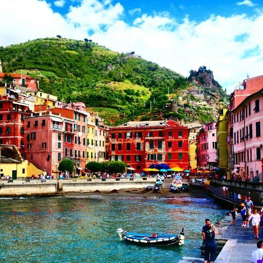Vernazza, Cinque Terre. ITALY. My holiday