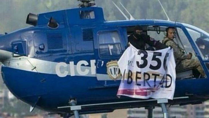 Venezuela, elicottero polizia attacca Corte suprema