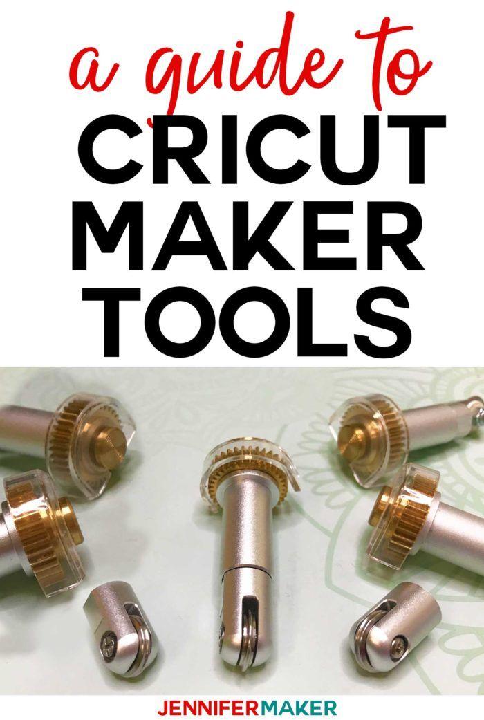 New Cricut Maker Tools Engraving Debossing Perforating