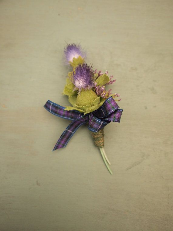 Hey, I found this really awesome Etsy listing at https://www.etsy.com/listing/223468542/scottish-thistle-heather-and-tartan