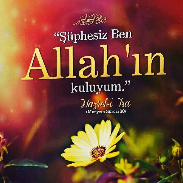 """Bebek şöyle konuştu: """"Şüphesiz Ben Allah'ın kuluyum. Bana kitabı (İncil'i) verdi ve Beni bir peygamber yaptı.""""   [Meryem Sûresi 30]  #bebek #ayet #kul #insan #peygamber #çocuk #kitap #incil #islam #müslüman #ilmisuffa"""