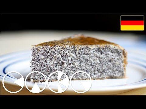 Luftiger MOHNKUCHEN Rezept - YouTube