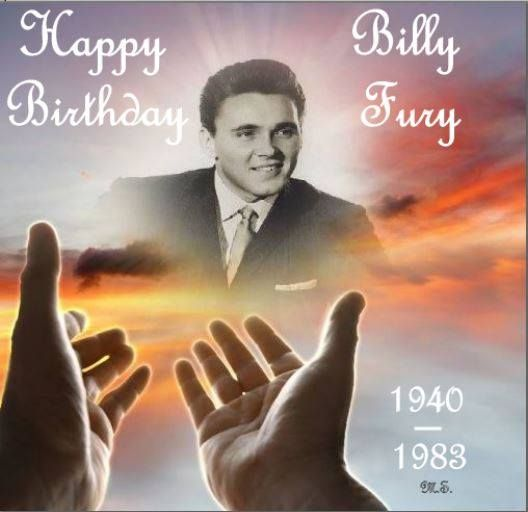 Billy Fury by Maureen Spurr - Happy 77th Birthday - 17th of April, 2017