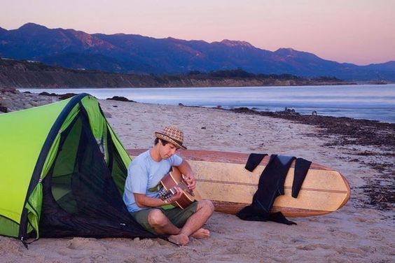 Southern California Beach Camping: Beach Campgrounds from Los Angeles to Orange Country, and San Deigo