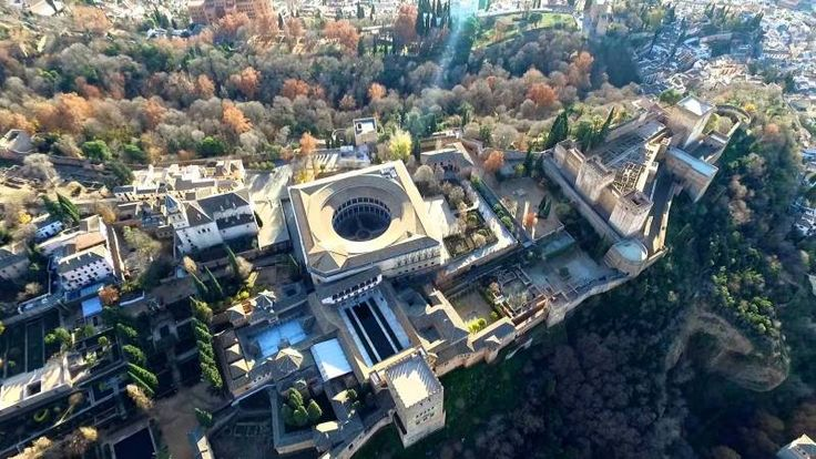 Asi es La Alhambra desde arriba - LO + 45 CHILL MAGAZINE
