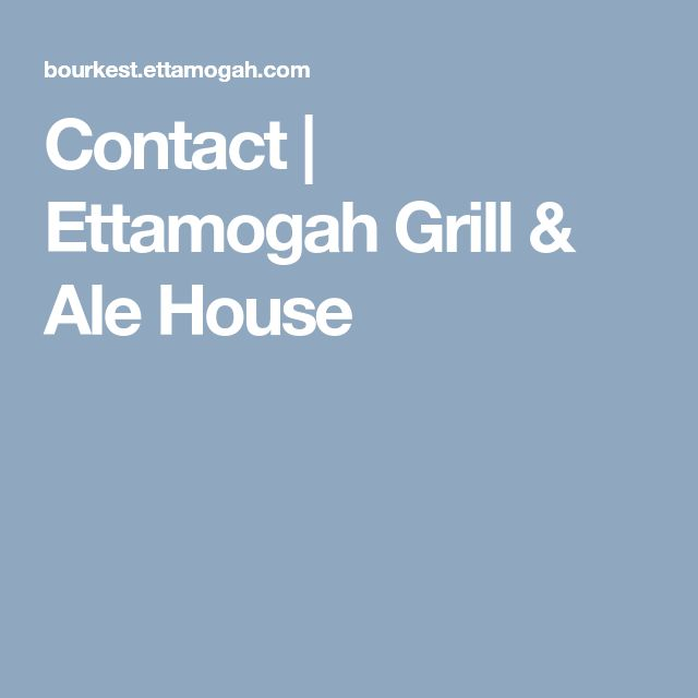 Contact | Ettamogah Grill & Ale House