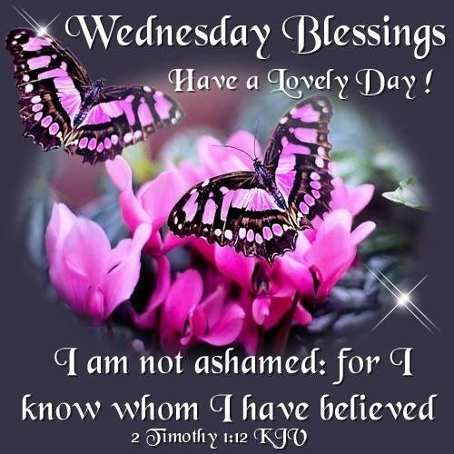 Wednesday Blessings. 2 Timothy 1:12 KJV.