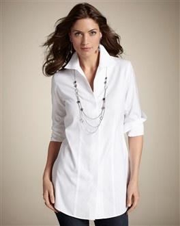 Effortless Cotton Helaina Long Shirt