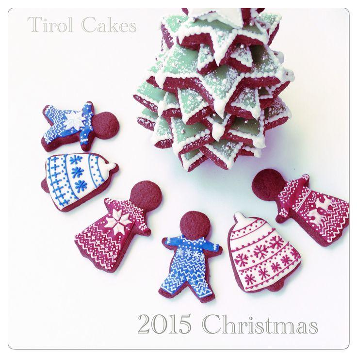 Christmas icingcookies ジンジャーマンクッキー