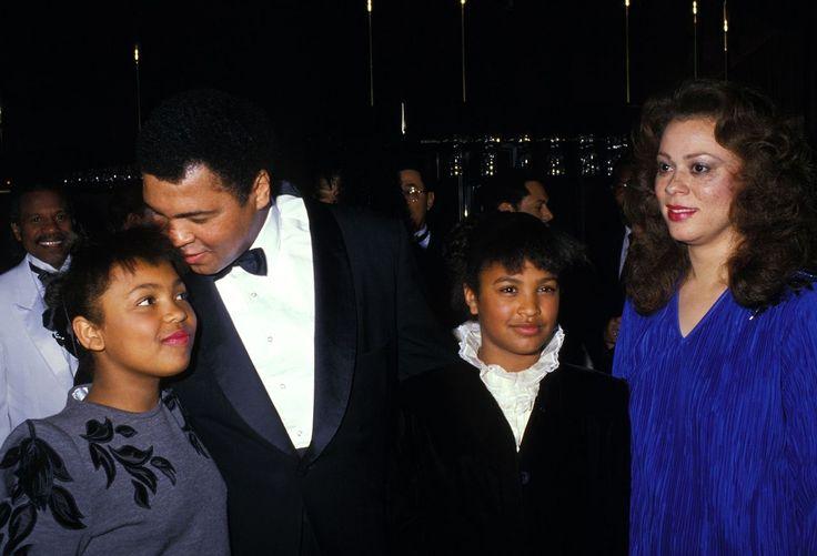 Muhammad Ali, children and wife Lonnie Ali