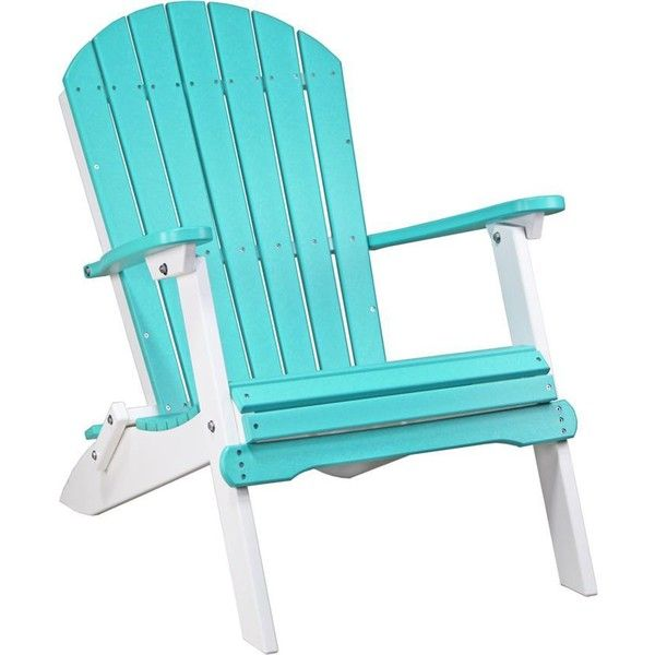 on the go or in your favorite outdoor space customize our lux poly folding adirondack chair to show off your personality or match your decor
