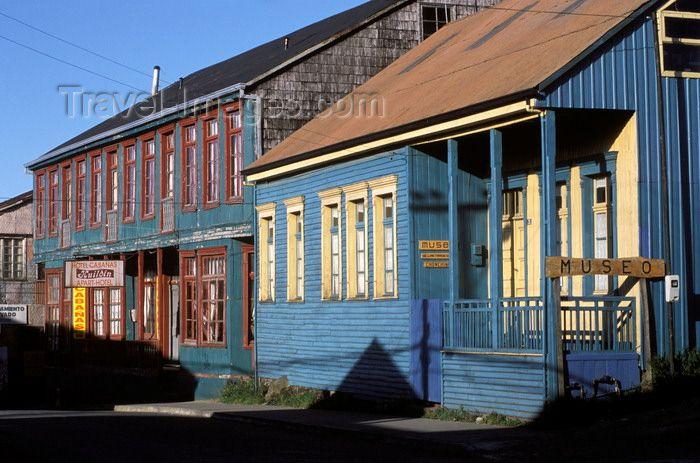 Chonchi, Chiloé island, Los Lagos Region, Chile: Historic Museum ...