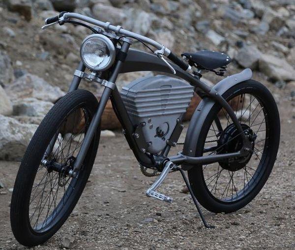 1910年代レーシングバイク風の電動アシスト自転車「ICON E-Flyer Electric Bike」 - えん乗り