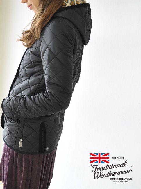 【楽天市場】Traditional Weatherwear トラディショナルウェザーウェア LUTON/ルトン レオパードライニングフードキルティングジャケット・2008G(全4色)(XS・S・M)【2014秋冬】:Crouka(クローカ)