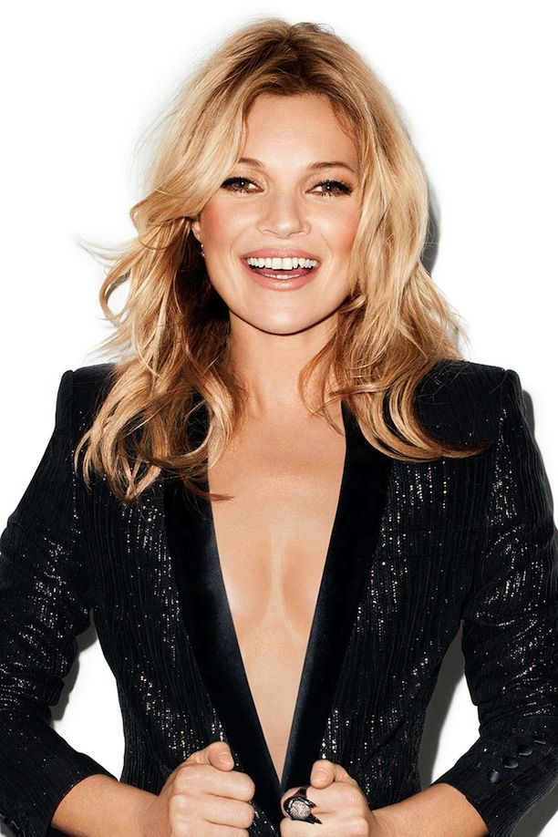 Who What Wear Kate Moss Harpers Bazaar May 2014 Photographer Terry Richardson Kate Moss For Topshop Collection Loose Waves Wavy Hair Accente...
