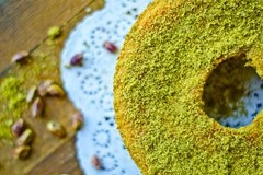 31: Pistachio and Ginger Cake by Sandra Santos