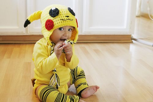 Thrifty Costumes: DIY Pikachu Baby Costume   Little Big
