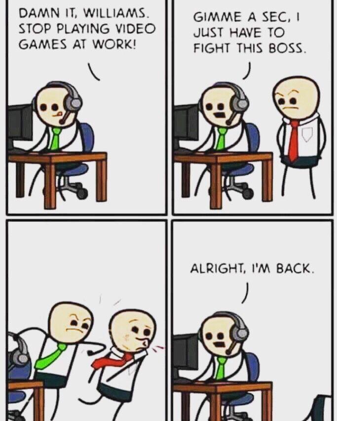 Defeat The Boss Funny Memes Hilarious Amusing