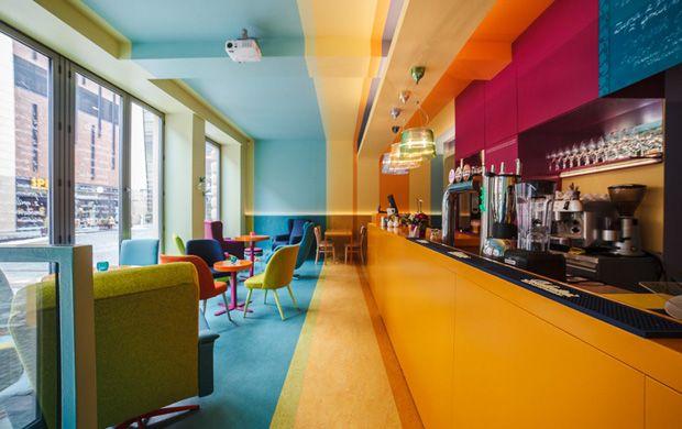 On fait le plein de couleurs au Cafein en Pologne