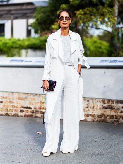 A Week's Worth of White. Despite what Emily Post said, white can be worn (and look chic) all year long. But nothing says summer quite like a cool, crisp all-white lo...