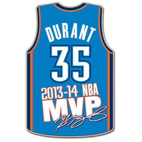 Kevin Durant Oklahoma City Thunder Wincraft 2014 MVP Collector Pin - NBA | Sports Mem, Cards & Fan Shop, Fan Apparel & Souvenirs, Basketball-NBA | eBay!