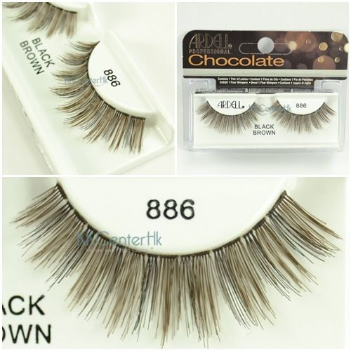 424c7a19838 Ardell Chocolate Black Brown Collection lashes - 886 | Make Up + Hair |  Pinterest | Polished toes, Natural lashes and French nails