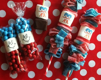 Thing 1 2 Party Candy Bags