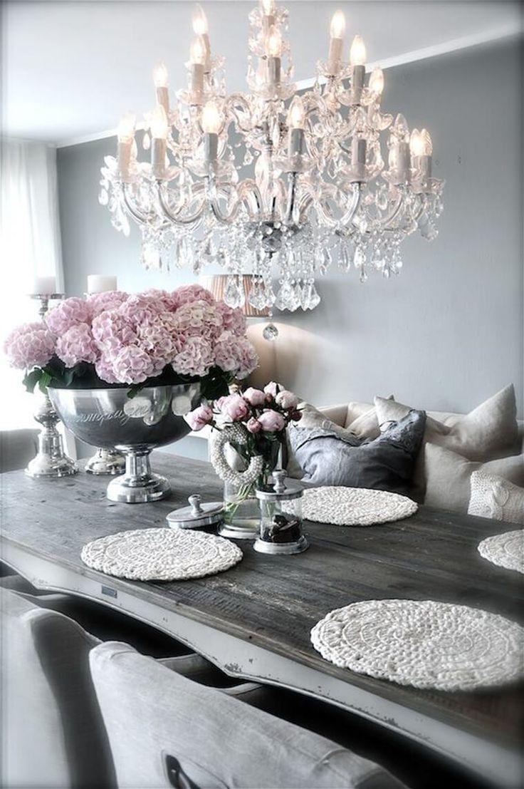 30 elegante und antik-inspirierte rustikale Glam Dekorationen