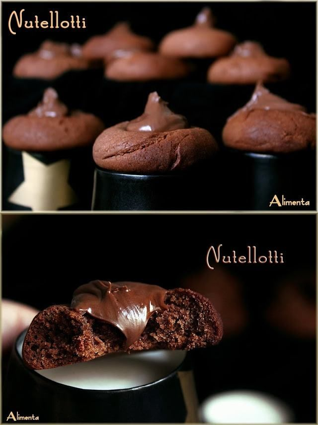 Crujientes galletas de Nutella