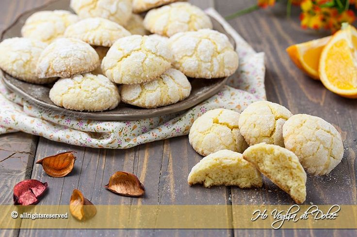 Biscotti+all'arancia+morbidi