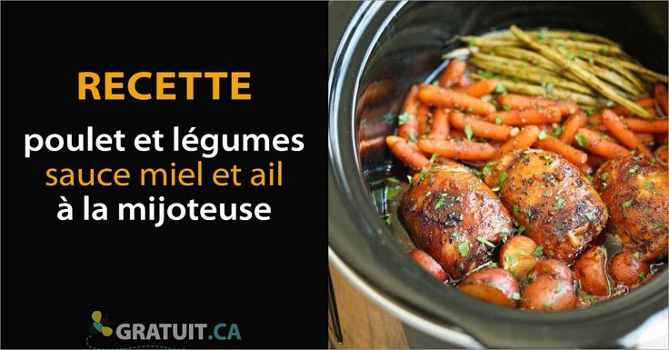 C'est une des meilleures recettes que je connaisse à la mijoteuse! Les hauts de cuisse de poulet sont d'une tendreté exceptionnelle et la sauce est d&eacu