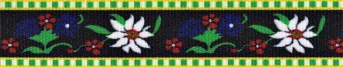 Country Brook Design® 5/8 Inch Edelweiss Grosgrain Ribbon, 10 Yards *** Click image for more details.