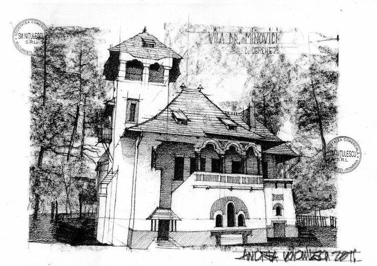 Vila Minovici - Bucharest on Behance