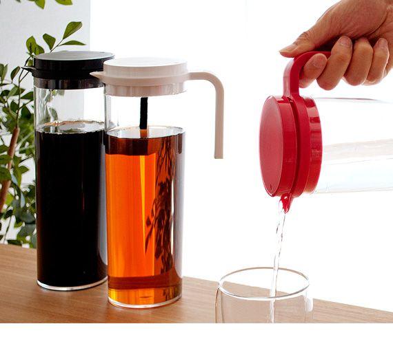 食器 ウォーターカラフェ 瓶 ピッチャー お茶入れ 冷水筒 ...|エアリゾーム【ポンパレモール】