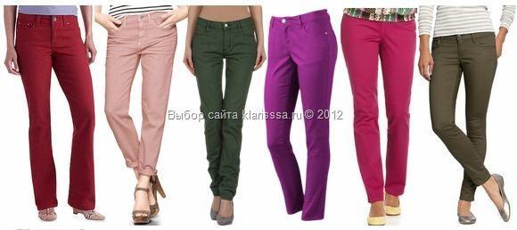 Самые модные джинсы в этом году